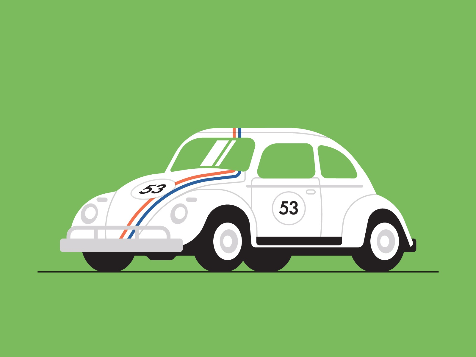 Vw beetle dribbble