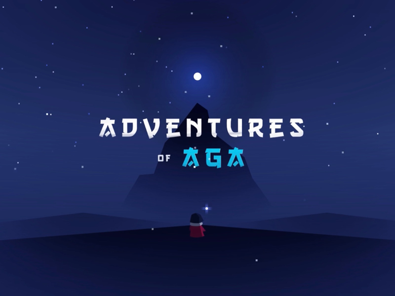 Adventures of Aga illustration apple design character vector game