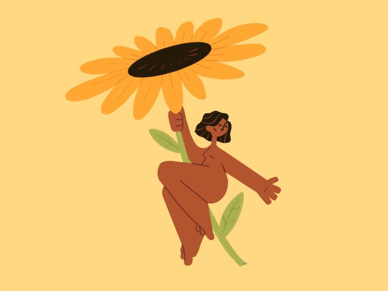You are like a sunflower