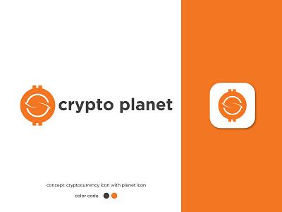 Cryptocurrency Logo business logo app logo logo design ecommerce sell token modern crypto orbital planet logo advertising agency finance currency logo tech payment digital money dollar bitcoin cryptocurrency brand identity branding