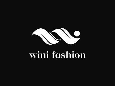Wini fashion Brand Logo design minimal logo black and white logo design ecommerce colorful simple logo professional business logo creative logo design letter logo modern w feminine logo fashion logo logo idea brand identity branding