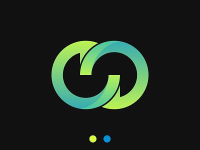 Infinity logo design simple business logo logo trends 2021 app icon design app logo ecommerce infinity logo idea initial monogram mark unique creative modern logo abstract gradient colorful brand identity branding