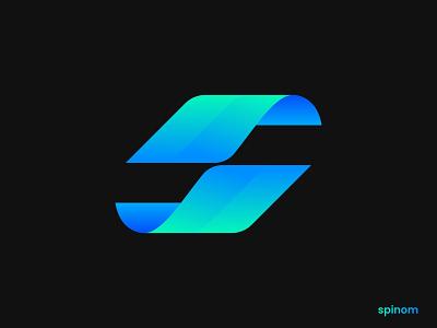 Modern S Lettermark logo design business logo logo idea logo type letter simple ecommerce app logo ui app icon design s logo colorful logo multi color gradient logo trends 2021 abstract logo creative logo logo mark modern s branding
