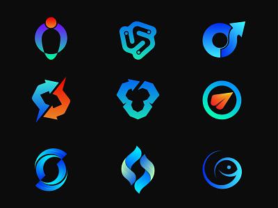Modern Logos, Logo Trend 2022 logo inspiration vector gradient colorful app logo abstract logo collection collection logo idea simple letter visual identity brand identity brand identity mark logo folio logos modern logo logo