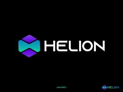 Hexagon Logo for Software Company logo idea design technology tech logo conceptual logo gradient brand logo hexagon colorful creative app logo software logo identity branding abstract logo modern logo logo