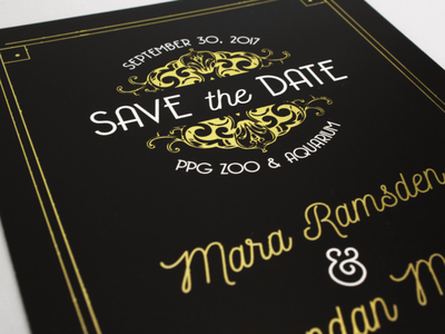 another one for the fridge  |  save the date typography illustration design