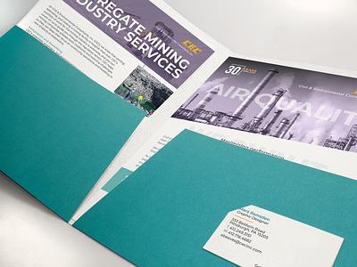 stuff holder [feat. stuff] | folder & collateral layout print branding typography design