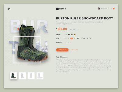 Burton burton interface boots flat ui shadow diffuse