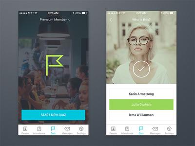 Cornerstone Android App ux ui tutorial template statistic social kit ios guidelines flat app