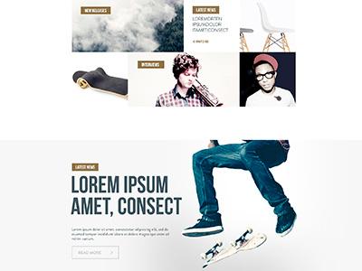 Sound´s whisper ui ux design art direction music theme interaction user interfaces web responsive
