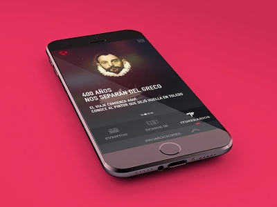 Mas Toledo app ios android design art direction ux interaction user interfaces responsive mobile visual designer interaction designer