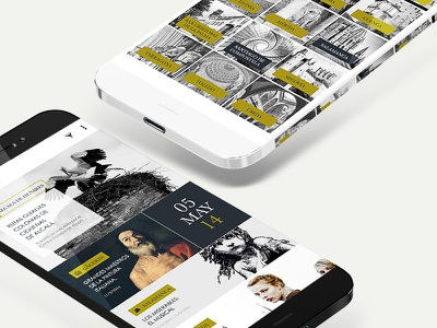 Ciudades Patrimonio de la Humanidad App interaction designer visual designer tourism app ios android design art direction ux interaction user interfaces mobile