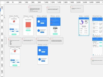 WIP Upcoming project ios mockup ui ux design app