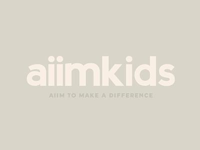 Aiimkids indie kids clothing brand kids clothes kids clothing brand branding expert graphic designer brand identity design logo design brand identity