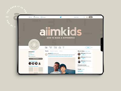 Aiimkids indie kids kids clothing brand kids clothing branding expert graphic designer brand identity design logo design brand identity