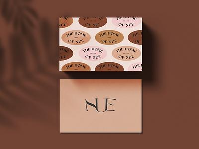 Nue home beauty beauty brand branding expert brand identity design logo design brand identity