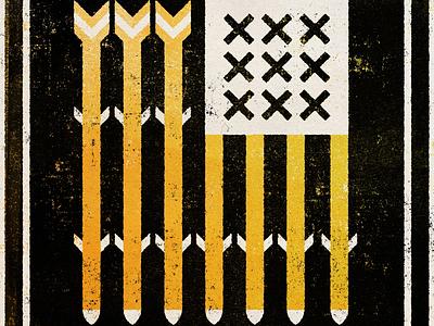 Let Me Go - Rancid 2000 Tribute flag usa texture. rancid design illustration