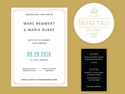 Wedding Invites typography type print design print wedding invite wedding design