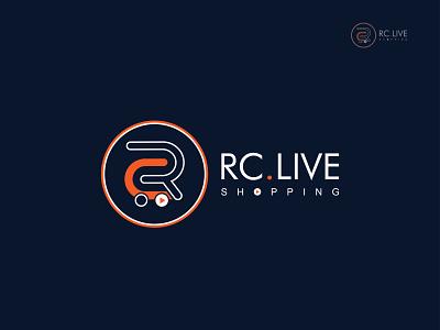 RC.LIVESHOPPING | RC Logomark. rc logomark shopping logo business logo design. unique logo design apps icon icon branding minimalist logo logobrand creative logo logodesigns logomark logotype logos abstract logo modern logo logo design logo