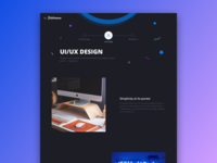 Bitdreams Website [UI/UX Design]