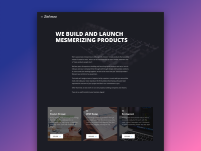 Bitdreams Website [About]
