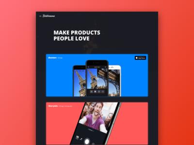 Bitdreams Website [Work]