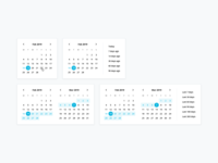 Design System: Date Pickers