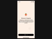 Tangerine App Onboarding