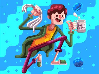 Towel Day vector douglas adams geek nerd dia da toalha towel day