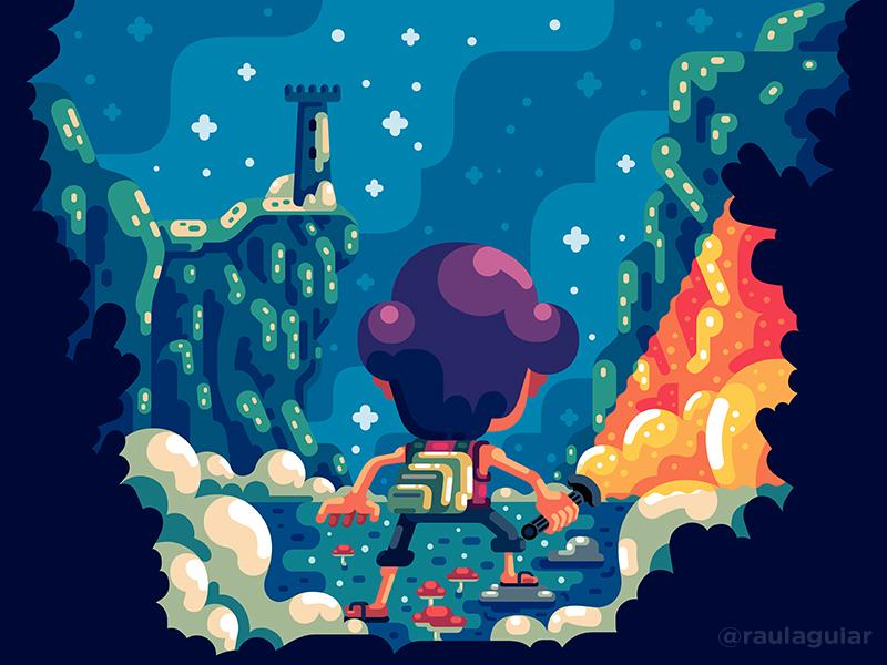 Call to adventure childrens book animation comics timo