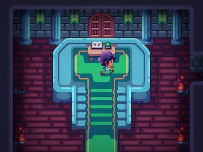 Hall nintendo houses inspiration fantasy timo illustration game