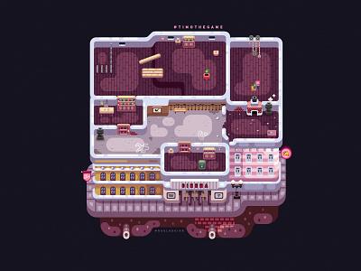 Detective Level mobile app game timo adobe illustrator illustration