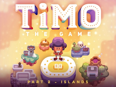 Timo - Islands timo vector game adobe illustrator illustration