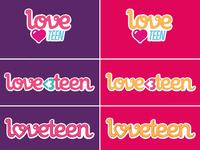 Loveteen logos