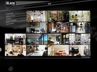 MostraBlack site design photoshop webdesign website