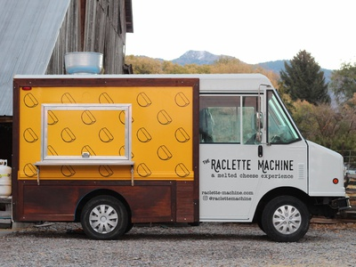 The Raclette Machine Food Truck design local utah food truck salt lake city food cheese raclette