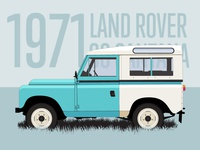 1971 Land Rover 88 Santana