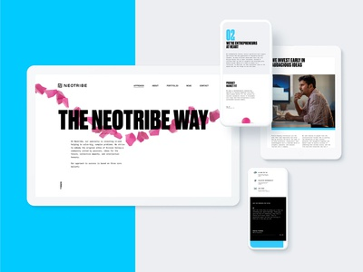 Neotribe Site Design