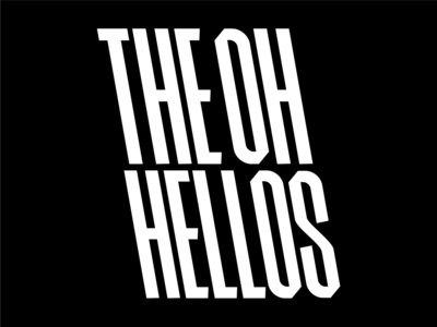 The Oh Hellos Lettering