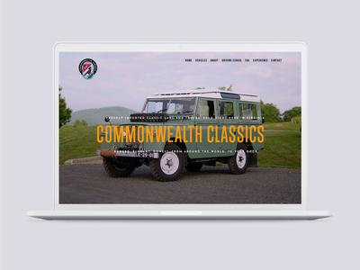 Commonwealth Classics Web Design