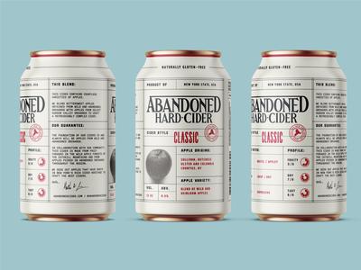 Abandoned Hard Cider Cans
