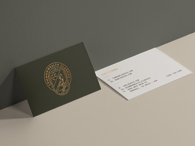 Commonwealth Classics Business Cards
