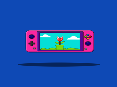 Game Boy - Vector Illustration joystick concept button equipment technology animation flat icon logo illustration gadget gameconsole control controller computer design gameboy gaminglogo gaming game