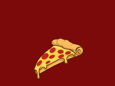 Pizza Food - Vector Illustration italian concept vector cartoon animation logo illustration flat design pizza logo eat food italy pizza