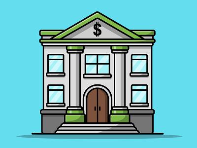 Bank Building entrance