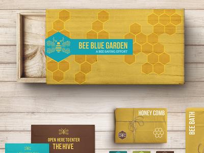 Bee Blue Garden: Bee Saving Box