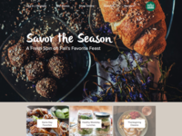 Whole Foods Landing Page