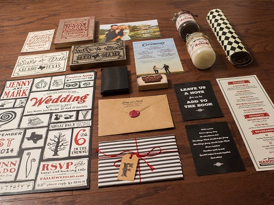 My Wicked, Weird and Wonderful Wedding wedding letterpress wedding invitation branding sugar scrub takeaway poster save the date engagement announcement wood signs website packaging