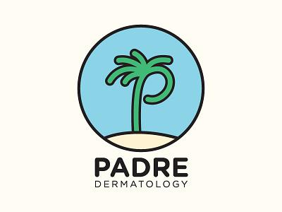 Final approved logo branding medical dermatology logo beach