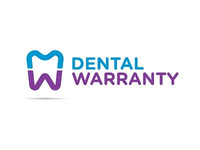 Dental Warranty Logo teeth tooth warranty dental branding logo